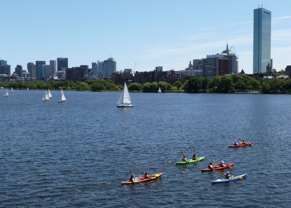 the Charles River. (Lorianne DiSabato/Flickr)