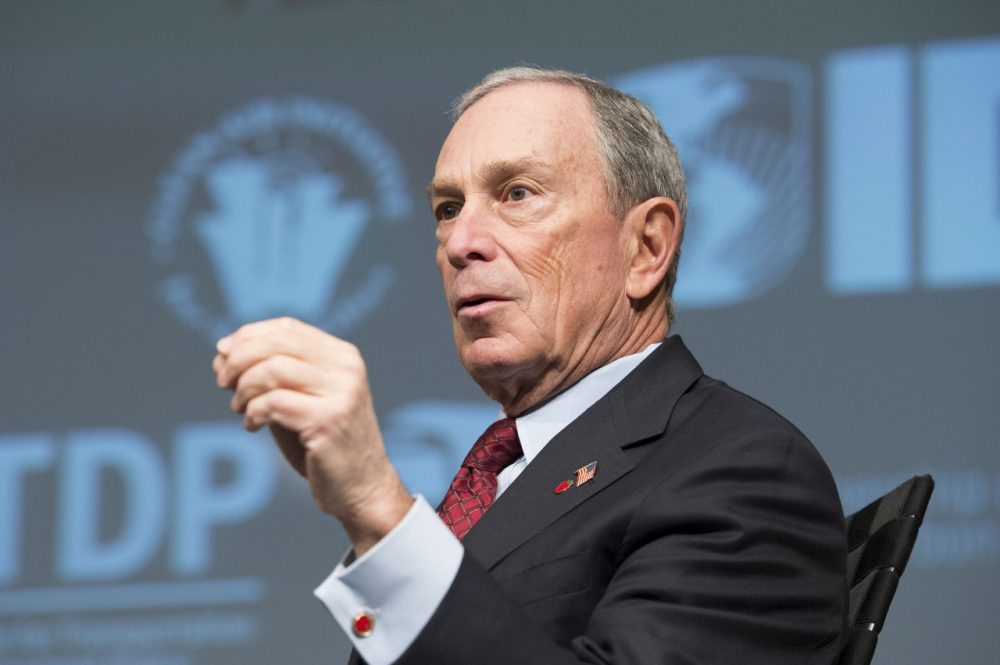 Michael Bloomberg, former mayor of New York City, is pictured at the annual Transforming Transportation conference in Washington, D.C. on January 18, 2013. (Ryan Rayburn/World Bank)