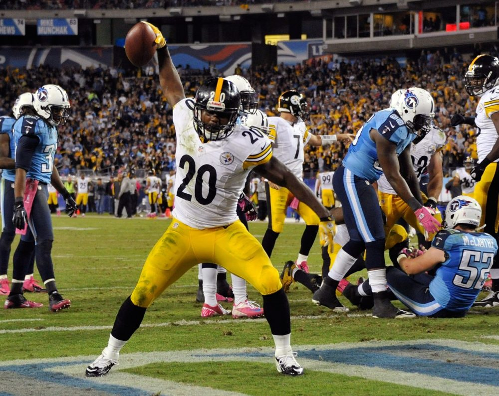 Baron Batch played in 12 games for the Steelers in 2012. (Frederick Breedon/Getty Images)