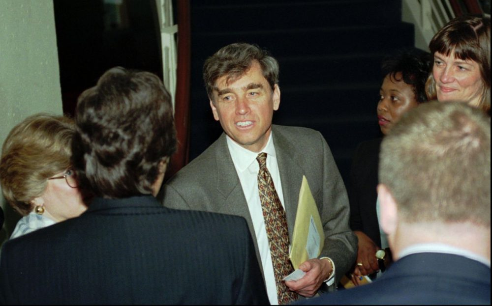 When Richard Freeland took over as Northeastern president in 1996 the school was ranked No. 162 by the U.S. News and World Report. (Gail Oskin/AP)