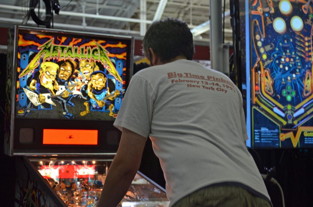Prone to volatile swings in popularity, pinball is currently on the up. (Lauren Ober/Only A Game)