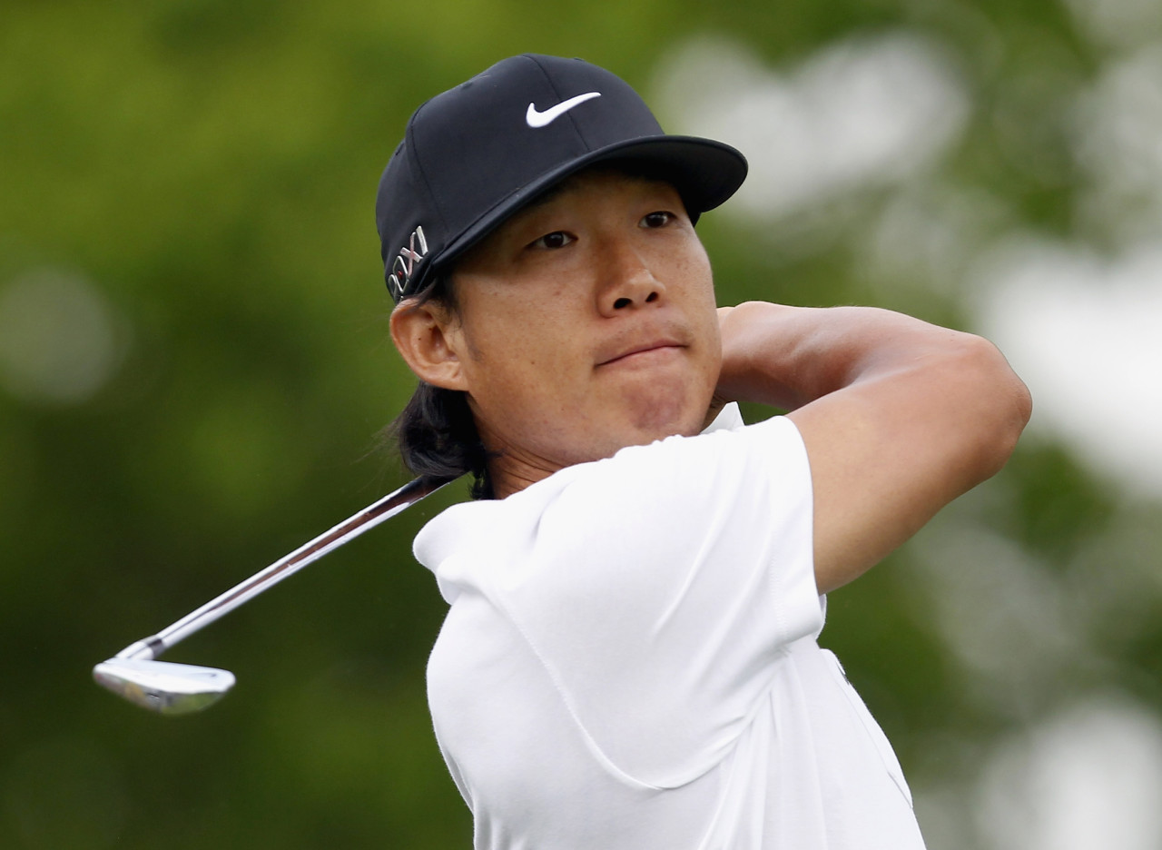 Anthony Kim recorded 17 top-10 finishes on the PGA tour between 2008 and 2011. (Matt Sullivan/Getty Images)