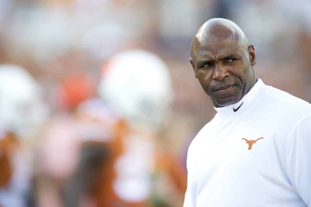 Charlie Strong will reportedly double the drug testing    (Cooper Neill/Getty Images)