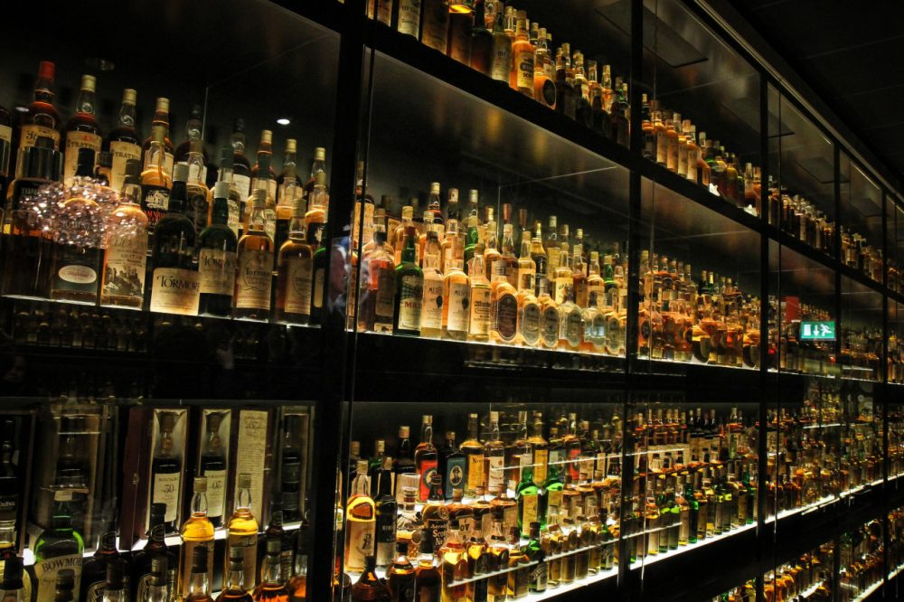 A collection of Scotch whiskey. (theallseeingguy/Flickr)