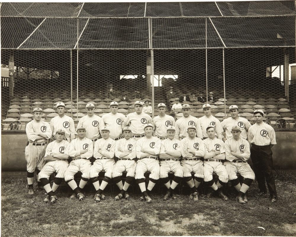 The 1914 Providence Grays with Babe Ruth. (Photo: Public Domain)