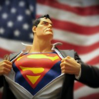 "The NPR series ""Men in America"" took a look at changing notions of masculinity in the 21st century. Superman might no longer be the ideal. (mikerastiello/Flickr)"