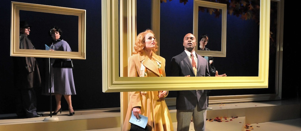 """Jennifer Ellis and Maurice Emmanuel Parent in SpeakEasy Stage Company's """"Far from Heaven."""" (Craig Bailey/Perspective Photo)"""