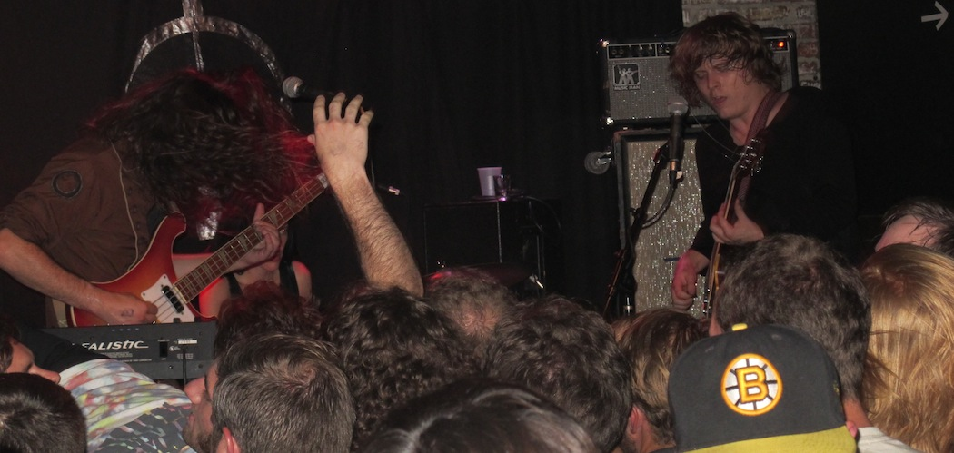 Ty Segall performing at Great Scott. (Andrea Shea)