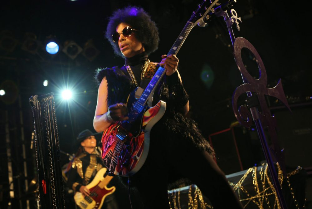 Prince has released a new, much-anticipated, album. Hes pictured here on Feb. 5, 2014 during a performance in London ahead of the album release. (3RDEYEGIRL NPG Records via AP)