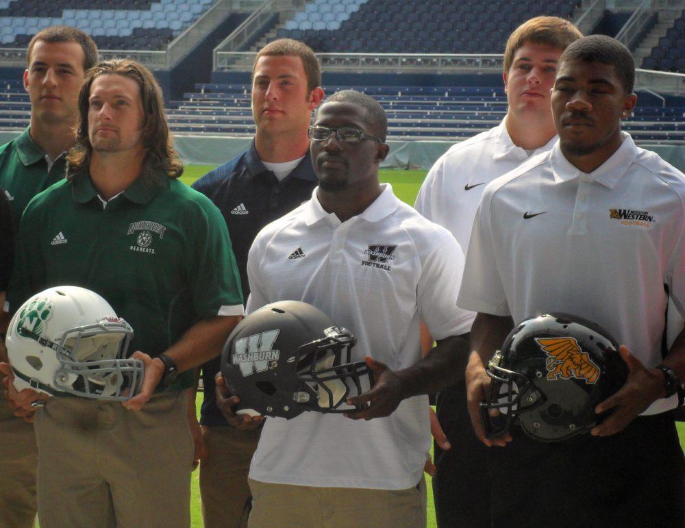 Vershon Moore (front row, center) (Greg Echlin/Only A Game)