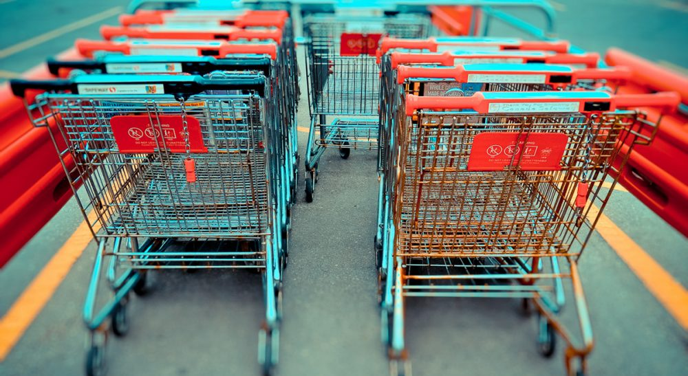 "Susan Senator: ""Cleaning up the shopping carts may not be your dream job, but for guys like my Nat, walking around in the fresh air, putting things away, and not having to talk to people is an ideal way for him to spend his time."" (arlophoto/Flickr)"