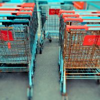 """Susan Senator: """"Cleaning up the shopping carts may not be your dream job, but for guys like my Nat, walking around in the fresh air, putting things away, and not having to talk to people is an ideal way for him to spend his time."""" (arlophoto/Flickr)"""