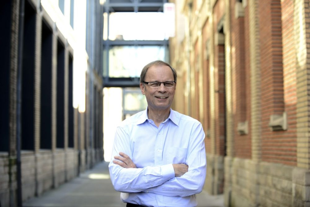 French economist Jean Tirole is seen at the Toulouse School of Economics (TSE)  on October 13, 2014 in Toulouse. Tirole is a master of game theory and industrial organisation. (Remy Gabalda/AFP/Getty Images)
