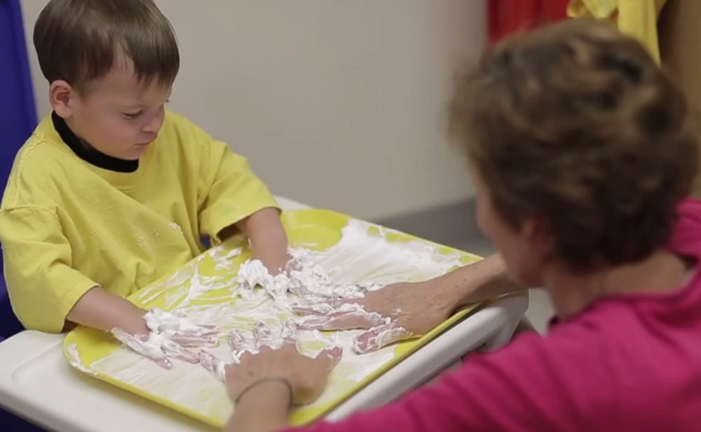 A program at Mercy Children's Hospital in St. Louis provides early intervention for children diagnosed with autism. (Courtesy Mercy Children's Hospital)