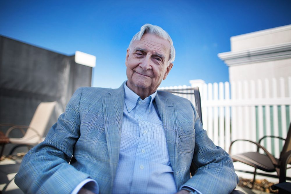 "Naturalist E.O. Wilson is author of ""The Meaning of Human Existence."" (Jesse Costa/Here & Now)"