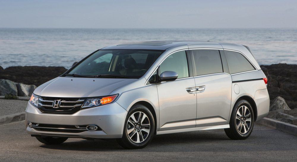 "Suzanne Greenwald: ""This is modern science that matters. Once frumpy, the minivan is busting out of the suburbs, big-time."" (Honda/AP)"