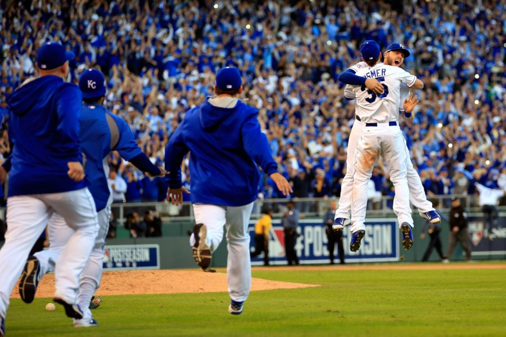 What, you didn't see this coming? The Kansas City Royals are World Series-bound. (Jamie Squire/Getty Images)