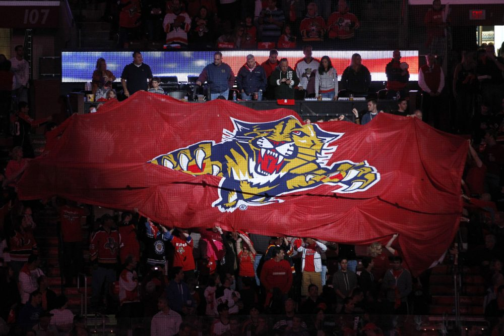 With lackluster attendance and the team in last place, the Florida Panthers' last playoff appearance in 2012 feels like a distant memory. (Joel Auerbach/Getty Images)