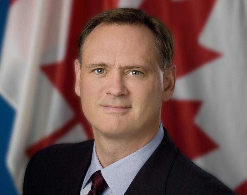 Canadian MP David McGuinty, who represents the Ottawa area, was among those who were in Parliament on lockdown until late yesterday evening. (Twitter)
