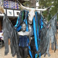 The Texas Renaissance Festival is celebrating its 40th year by holding events including a costume contest. Pictured is one of the participants. (Facebook)