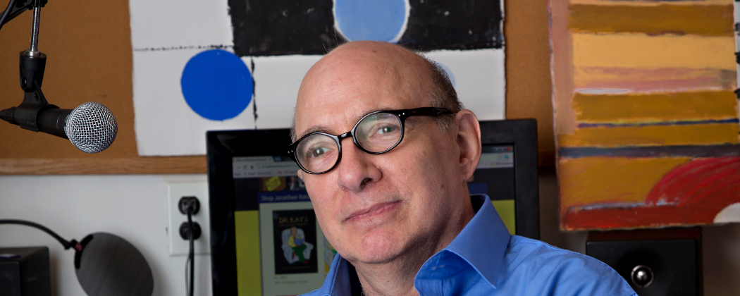 "Jonathan Katz, star of ""Dr. Katz, Professional Therapist,"" is back. (Michael Fein)"