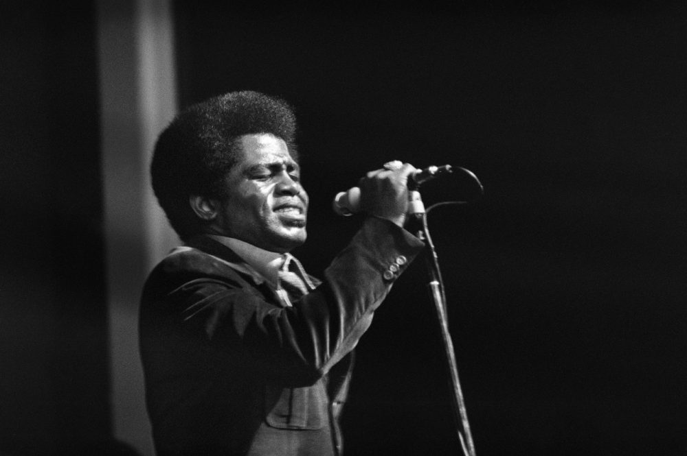 James Brown performs at the Olympia hall in Paris, September 1971. James Brown, the legendary singer known as the Godfather of Soul, has died of complications of an illness 25 December 2006 at the age of 73.(AFP/Getty Images)