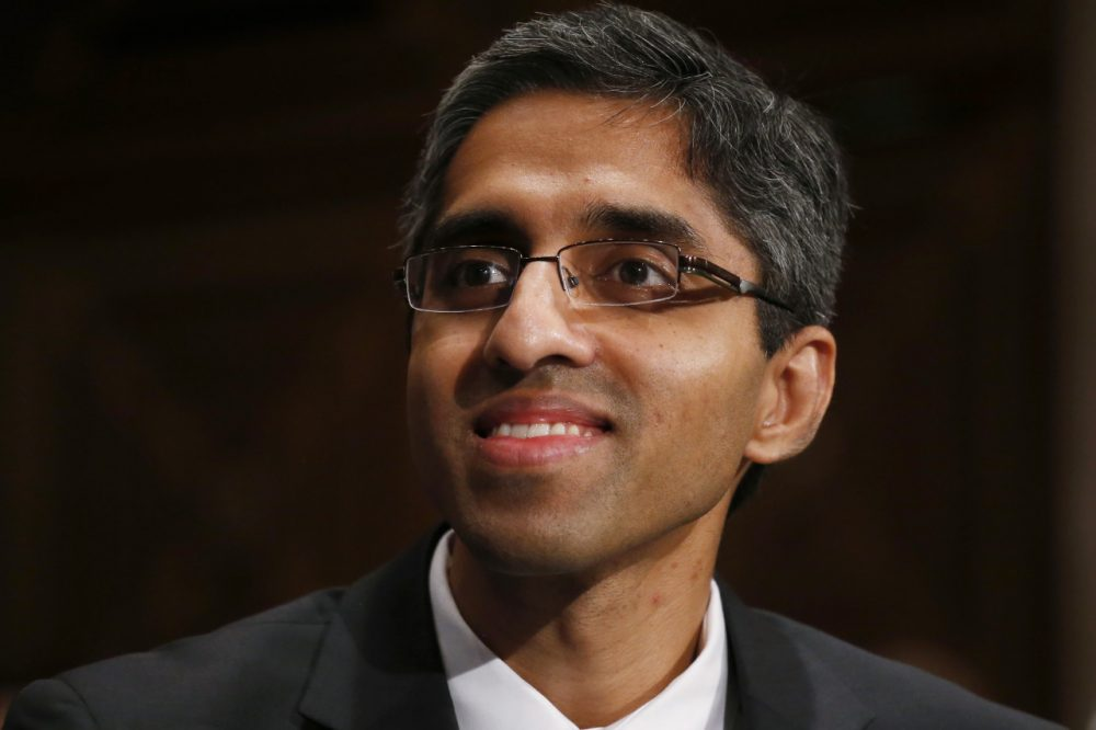 Dr. Vivek Murthy is an internist at Boston's Brigham and Women's Hospital. His nomination for U.S. surgeon general has stalled, largely due to his advocacy of gun control. (Charles Dharapak/AP/File)