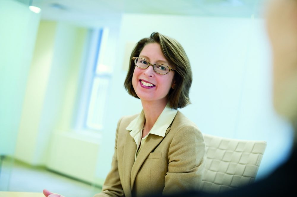 Abigail Johnson, the new CEO of FMR LLC. (Stuart Darsch/Courtesy of Fidelity)