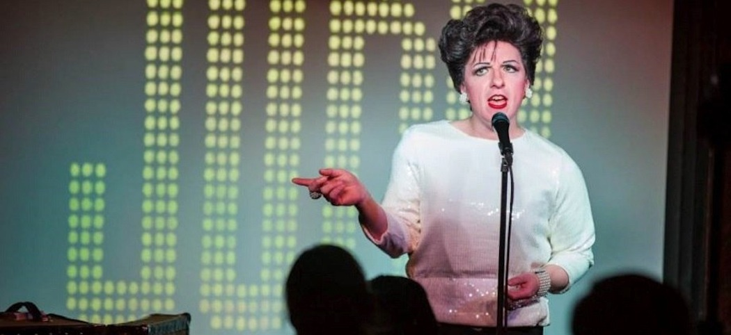 Peter Mac as Judy Garland. (Courtesy)