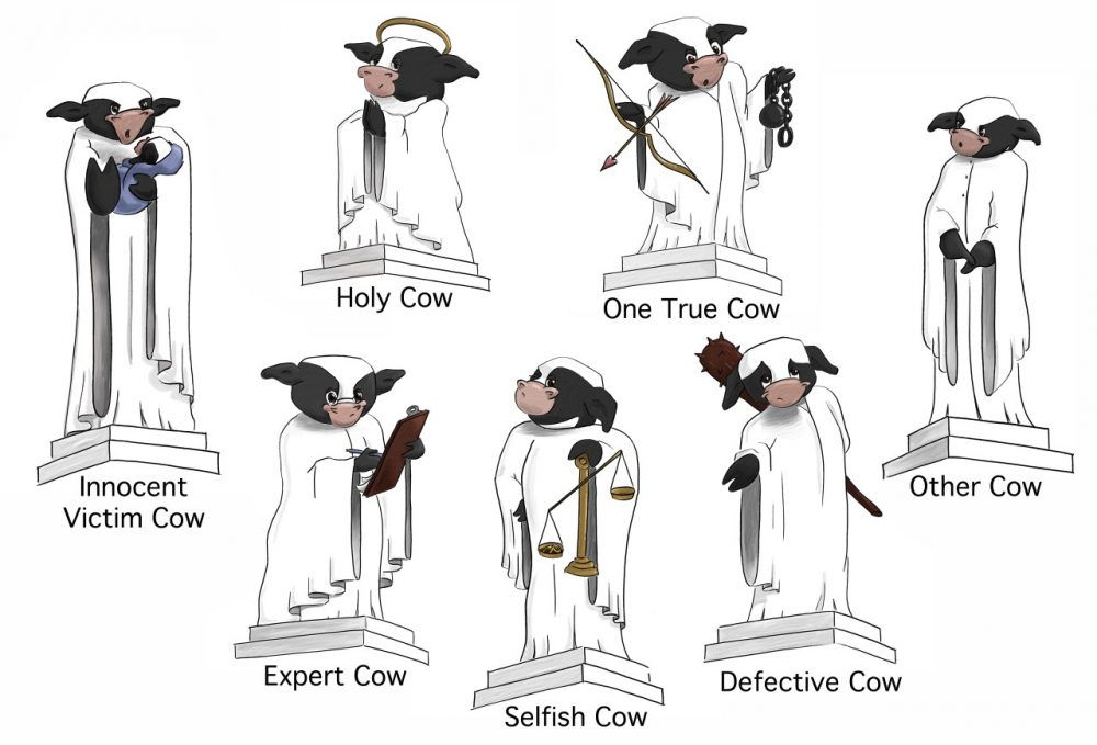 The seven sacred cows which push people towards marriage and away from divorce. (Courtesy: Astro and Danielle Teller)