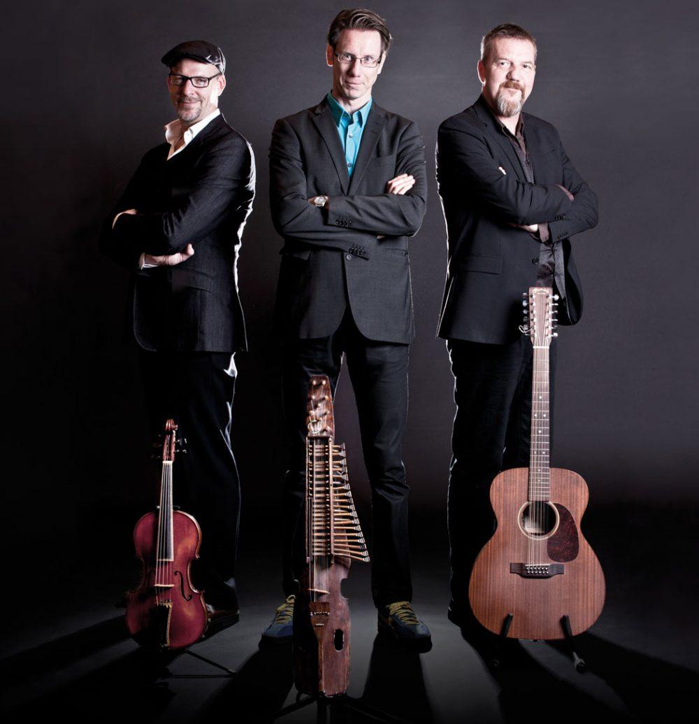 Swedish folk trio Väsen. (Courtesy)