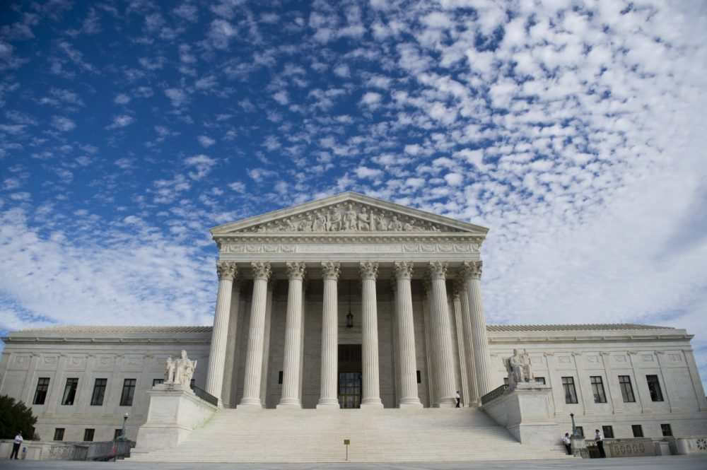 The U.S. Supreme Court in Washington, D.C., November 6, 2013. (Saul Loeb/AFP/Getty Images)