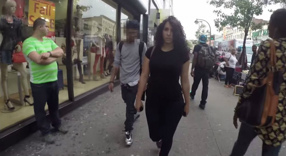 "A video called ""10 Hours of Walking in NYC as a Woman"" isn't just the hottest viral sensation. It's a snapshot of what tens of millions of women experience day after day, week after week, year after year. (Street HarassmentVideo/youtube)"