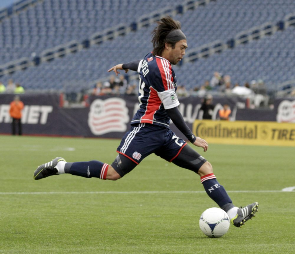 The New England Revolution is one of the top teams in MLS, but it doesn't draw enough fans to Foxborough to fill NFL-size Gillette Stadium. (Elise Amendola/AP)