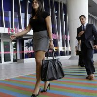 Jeremy Hitchcock: Paying interns is good business -- and it's the right thing to do. In this Oct. 23, 2013 file photo, applicants arrive for an internship job fair in Miami. (Lynne Sladky/AP)