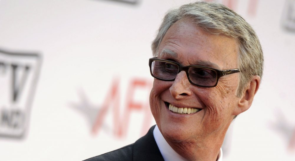 The late director Mike Nichols, recipient of the American Film Institute's Lifetime Achievement Award, on the red carpet outside the ceremony in Culver City, California, on June 26, 2010. (Chris Pizzello/AP)