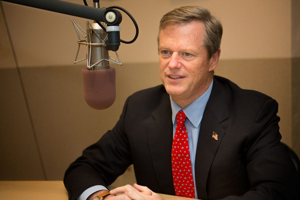 Gov.-elect Charlie Baker has said Beacon Hill pay raises can wait. (Jesse Costa/WBUR)