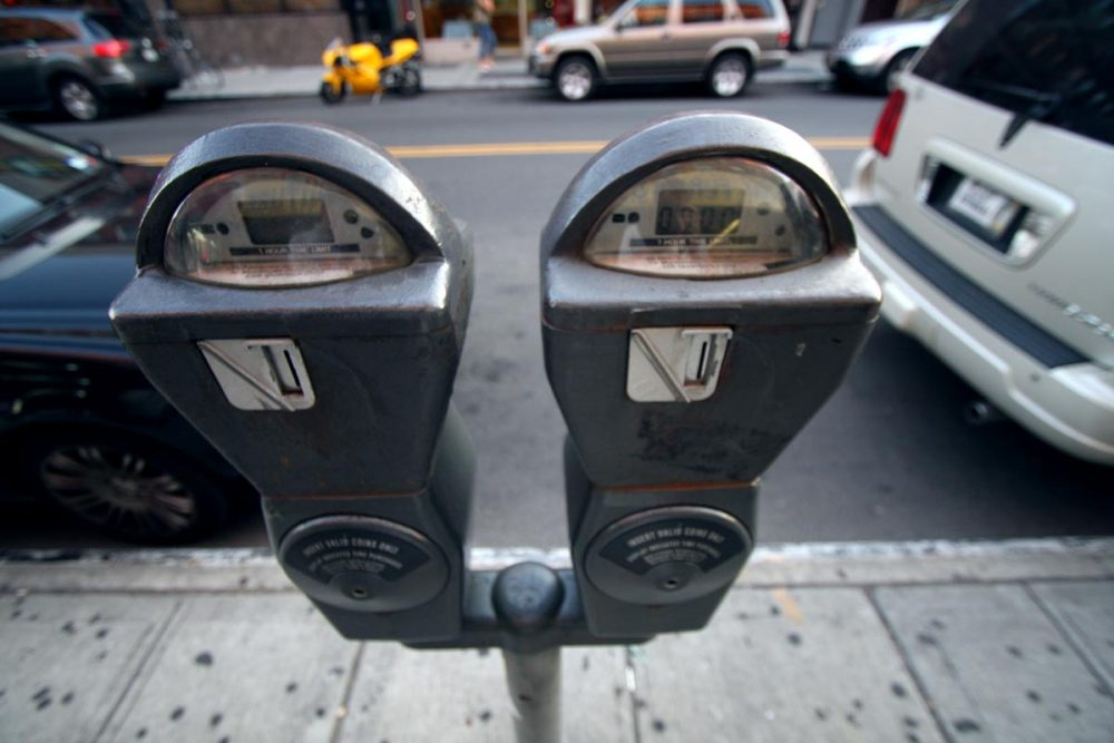 Boston will now offer pay-by-phone services for metered parking spots in some areas. Eventually, the new technology will be implemented in all of the city's meters. (Jp Gary via Flickr)