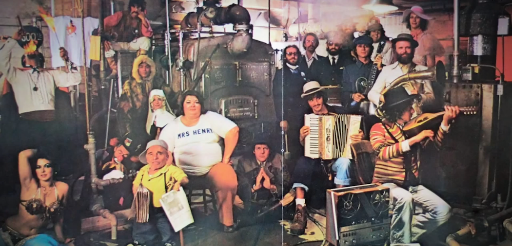 "The cover of the 1975 version of ""The Basement Tapes."" (Sony/YouTube)"