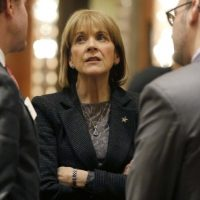 Outgoing Massachusetts Attorney General Martha Coakley, a key player in the Partners deal. (Steven Senne/AP/File)