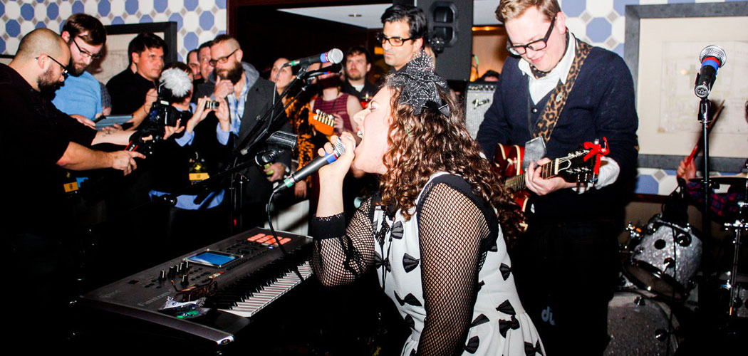 One of the performances at the 2013 Boston Music Awards. (Rebecca Carr)