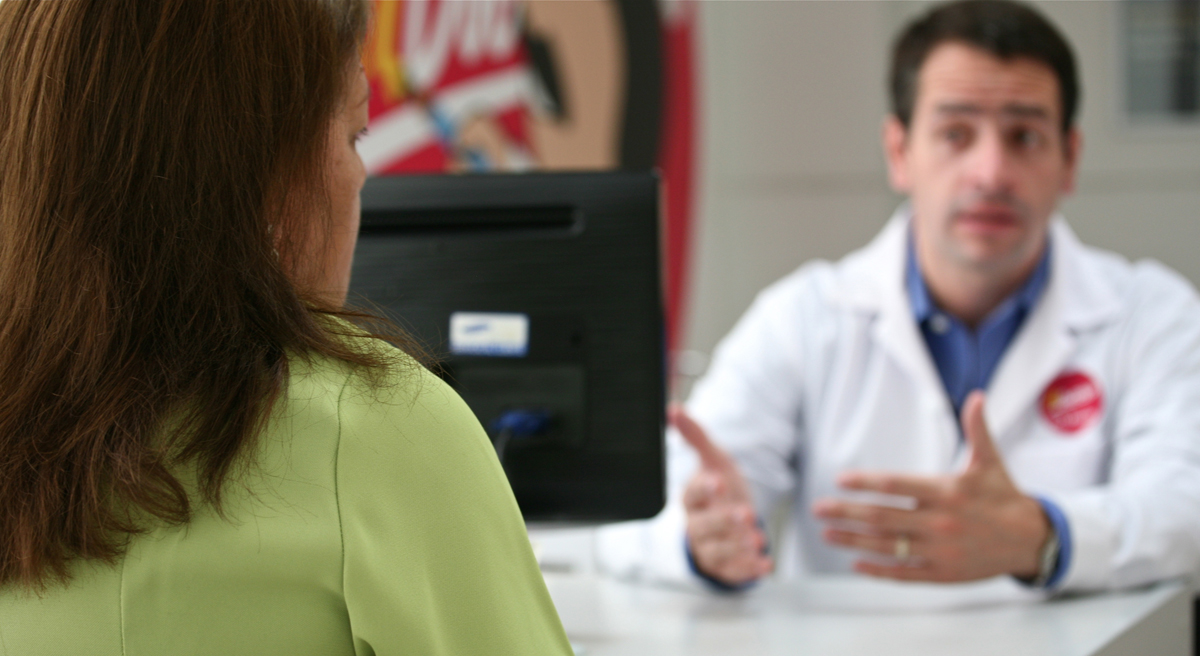 Doctors' unconscious biases about sexual orientation can adversely affect their treatment of LGBT patients. New national guidelines aim to fix that. (proimos/Flickr)
