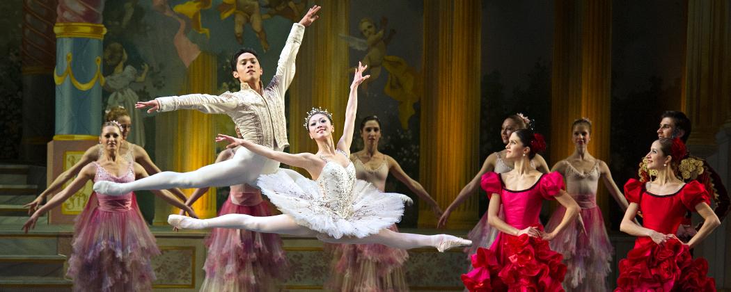 Misa Kuranaga and Jeffrey Cirio in the Boston Ballet (Courtesy Gene Schiavone)