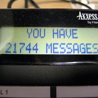 Voicemail messages left on a workplace phone are pictured. (JAmes Kearney/Flickr Creative Commons)
