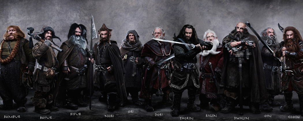 "Thorin and Company from ""The Lord of the Rings"" (Courtesy)"