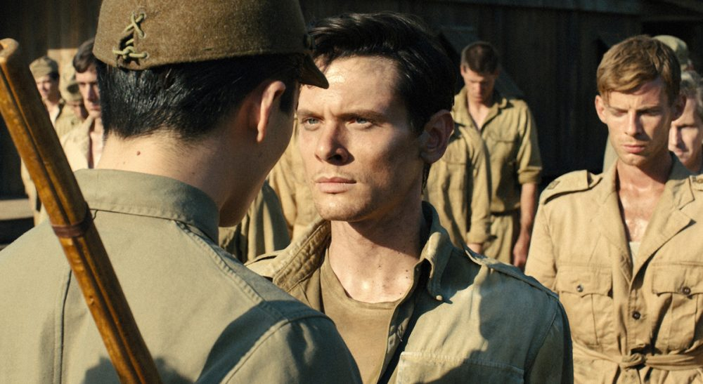 "Sari Edelstein: It is difficult to swallow an easy binary between American freedom and totalitarian abuses when the film's release occurred just weeks after the disclosure of the Senate report on CIA torture. Pictured: Jack O'Connell portrays Olympian and war hero Louis ""Louie"" Zamperini in a scene from ""Unbroken."" (Universal Pictures/AP)"