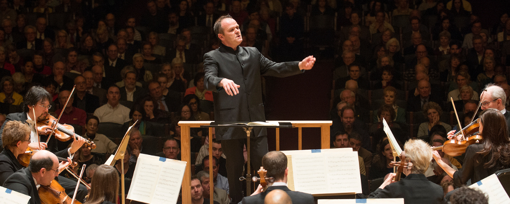 François Xavier Roth led the BSO in Beethoven's Fourth Symphony. (Stu Rosner)