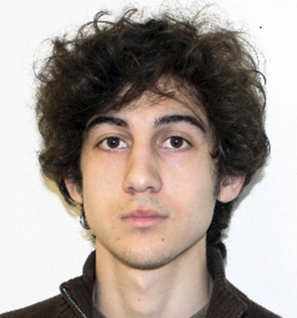 Boston Marathon bombing suspect Dzhokhar Tsarnaev is charged with carrying out the April 2013 attack that killed three people and injured more than 260. He could face the death penalty if convicted. (Federal Bureau of Investigation, File)