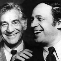 Leonard  Bernstein and Pierre Boulez. (Christian Steiner/New York Philharmonic Leon Levy Digital)