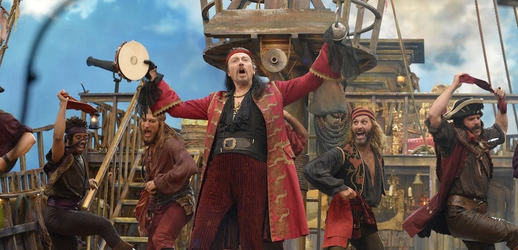 "Christopher Walken as Captain Hook in Thursday night's ""Peter Pan Live!"" (Virginia Sherwood/NBC)"